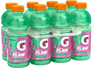 Gatorade Flow Thirst Quencher, Tidal Punch, 20 ounce Bottles (Pack of 8)