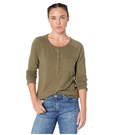 Prana Hensley Henley (Rye Green) Women