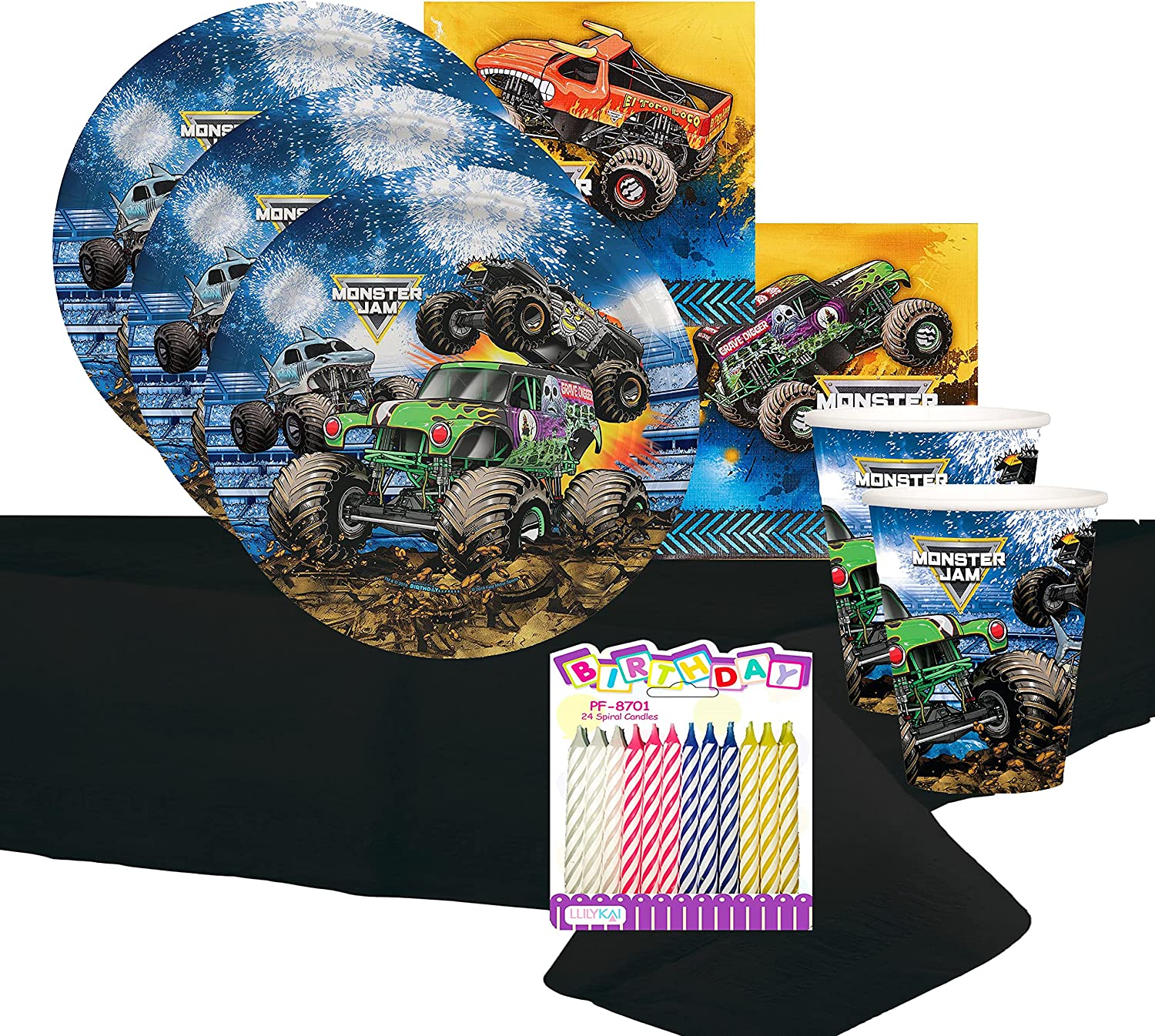 Monster Jam Party Bundles for 16 Guests