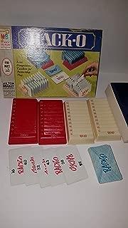Vintage Rack-O Game Milton Bradley Original 1966 (Card Game)
