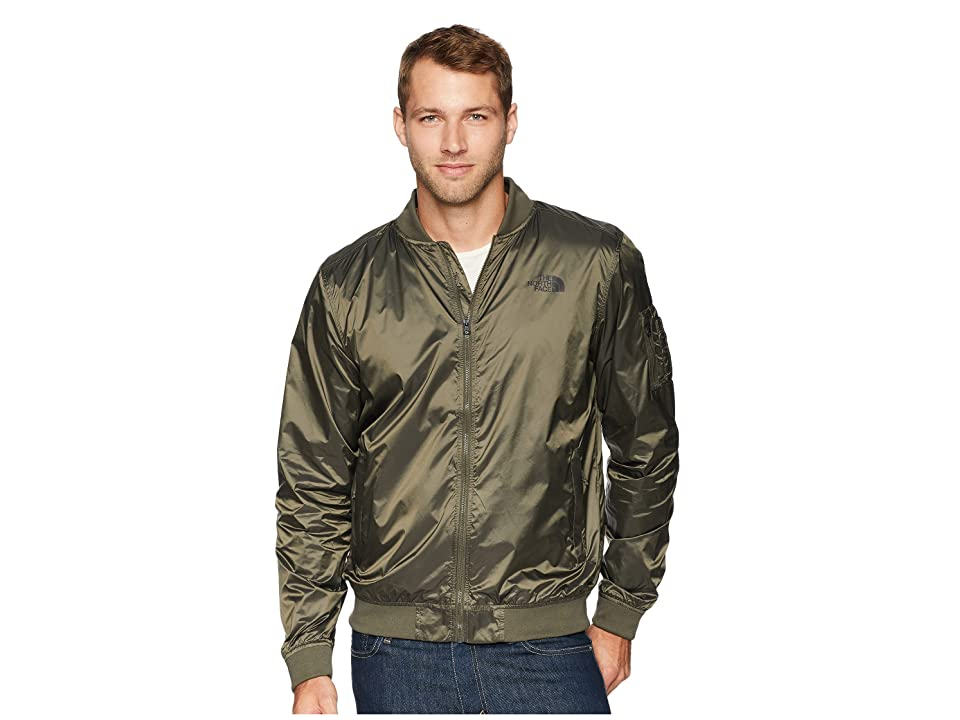 The North Face Meaford Bomber II (Shiny New Taupe Green) Men
