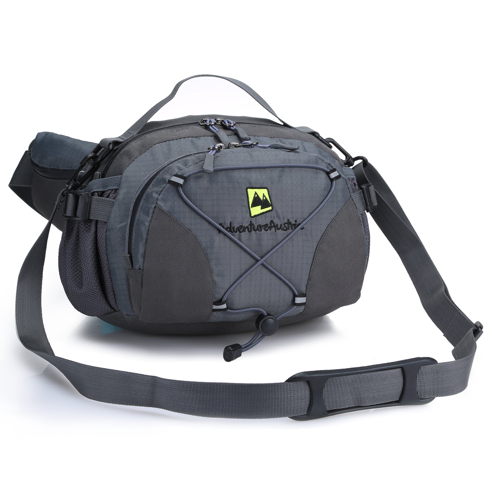 Christmas Tree Running Lumbar Pack For Travel Outdoor Sports Walking Travel Waist Pack,travel Pocket With Adjustable Belt