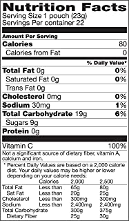 Sunkist Mixed Fruit Flavored Snacks, 22 ct