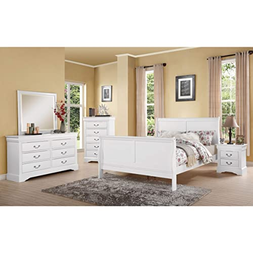 Full Bedroom Furniture Set: Amazon.com