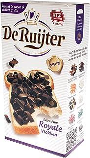 De Ruijter Royale Vlokken Extra Pur, Granella di Cioccolata, Fiocchi, Dolci, 300g