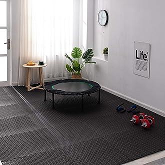 SH-EFM-24-Grey Grey Sweet Home Stores Soft EVA Foam Mat Flooring Tiles