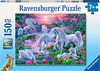 Ravensburger 10021 Unicorns at Sunset Puzzle 150pc,Children's Puzzles