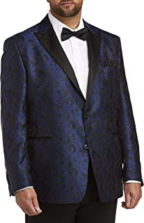 Tallia Orange Paisley Dinner Jacket, Blue