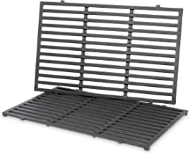 Weber 7524 Porcelain-Enameled Cast-Iron Cooking Grates (19.5 x 12.9 x 0.5), pack of 2