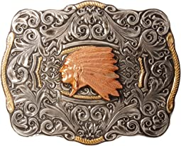 M&F Western - Crumrine Indian Head Buckle
