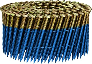 Fasco SCWC713FSEGSFP Electro Galvanzied Subloc Pro Scrail Nail Screw Fastener 15-Degree Wire Coil, 2-1/4 by 0.113-Inch