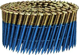 أداة تثبيت الأظافر SCWC713FSEGSFP الكهربائية المجلفنة سوبلوك برو سكرال من فاسكو، 15 درجة لفائف الأسلاك ، 6.3 سم × 1.3 سم