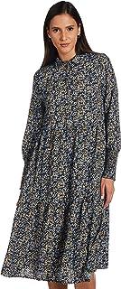 Vero Moda womens VIOLA LONG-SLEEVE SMOCK Dress