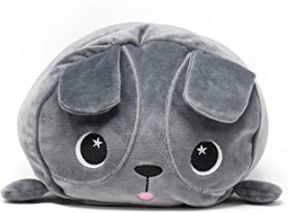 """Moosh-Moosh 12"""" – Large Softest Plush Premium Squishy Pillow Series 1 – Lots of Different Award Winning Animals and Unique Stories – Snuggle and Stack – Endless Fun Puggsy"""