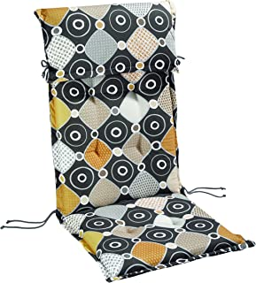 BEST 1401710 Cushion for Wheeled Lounger 190 x 60 x 8 cm Multi-Coloured