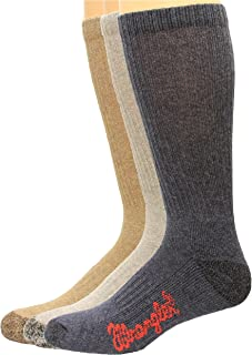 Cotton Boot Sock 3 Pack, Color Assort, W 10-12/M 8.5-10.5