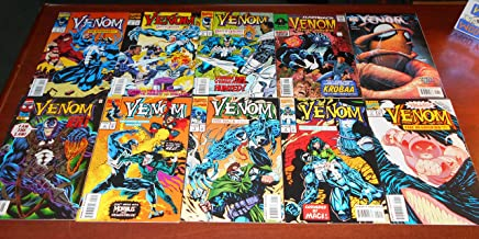 Venom Lot of 10 Comic Book Issues - License to Kill 1, The Enemy Within 2, The Mace 1 and 2, The Madness 1 and 2, Nights o...