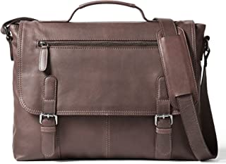 Leather Architect Men's 100% Leather Laptop Bag