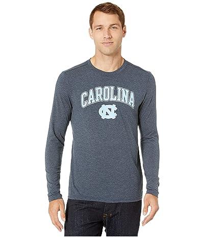 Champion College North Carolina Tar Heels Field Day Long Sleeve Tee (Navy) Men