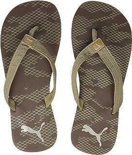 Puma Men's Peppercorn-Taupe Gray-Elephant Skin Flip-Flop (36833304)