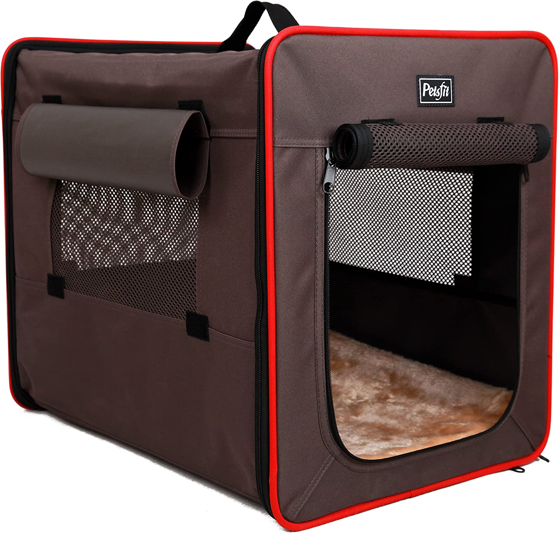 Petsfit 76cm X 53cm X 66cm Foldable Cat Kennel,Cat Cage,Dog Kennel,Lightweight Pet Kennel