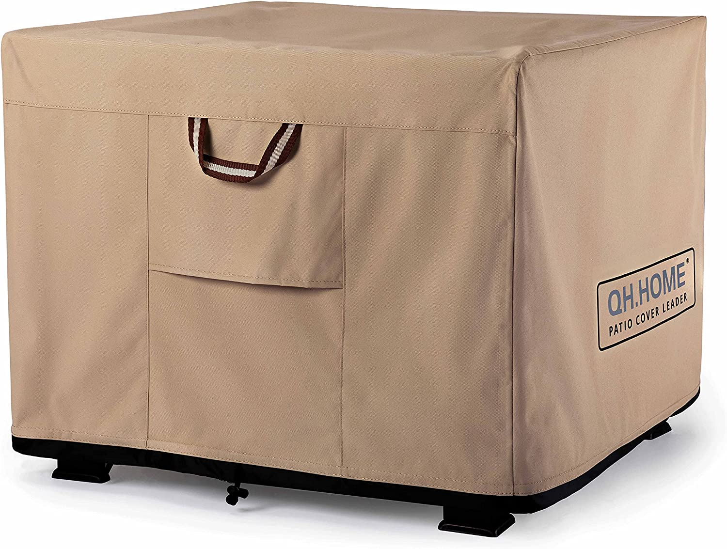 QH.HOME Fire Pit Cover - 28-32 Duty Strong High Tucson Mall quality new Tear- Inch Heavy 900D