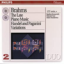 brahms late piano music