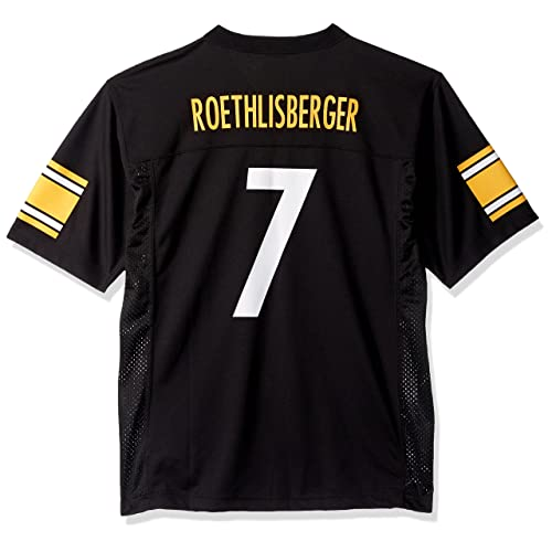 Outerstuff Ben Roethlisberger Pittsburgh Steelers Youth Black Jersey 8cdf81357