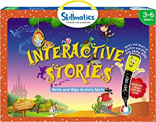Skillmatics Educational Game: Interactive Stories, 3 - 6 Years, Multi-Colour, SKIL19ISB