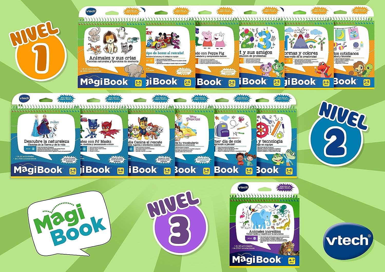 VTech - Libro para Magibook Princesas Disney, Desarrollo del Vocabulario y Habilidades de comunicación con más de 40 Actividades y Cientos de ...