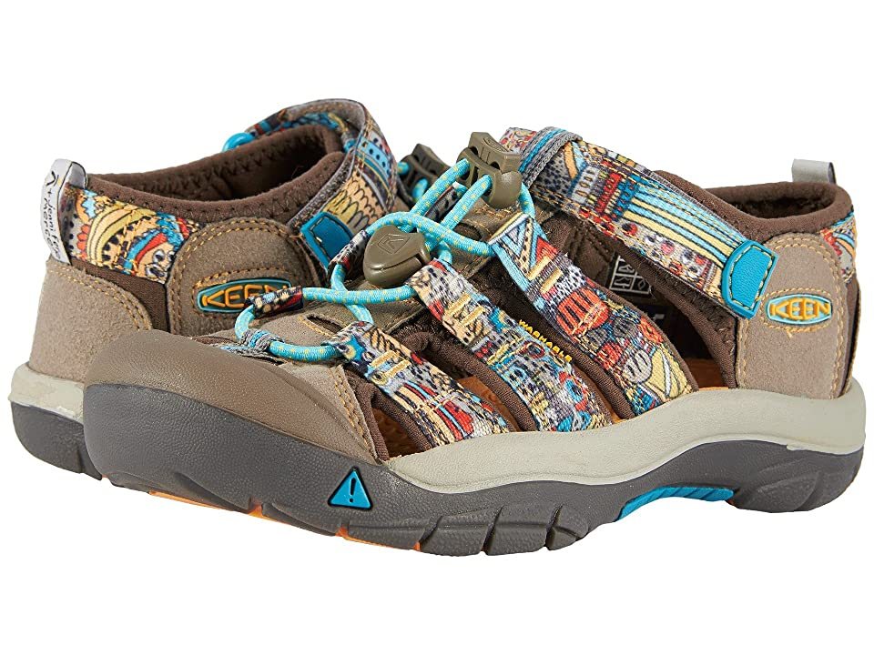 Keen Kids Newport H2 (Little Kid/Big Kid) (Beeswax Print) Kids Shoes