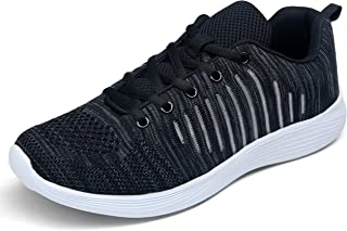 Men's Mesh Sneakers Athletic Running Shoes Non Slip Lightweight Tennis Walking Gym Sneakers