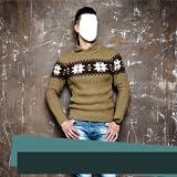 Montaje de fotos de traje de hombre casual