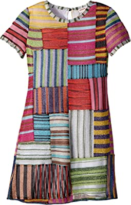 Mini Miss Patchwork Dress (Big Kids)