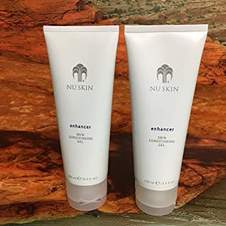 Nu Skin Enhancer Skin Conditioning Gel, 3.4 oz (100ml) Unboxed, 2 tubes
