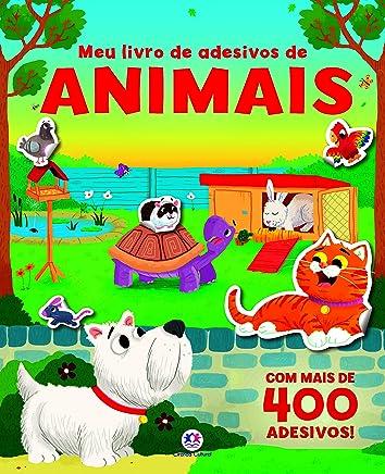 Meu livro de adesivos de animais