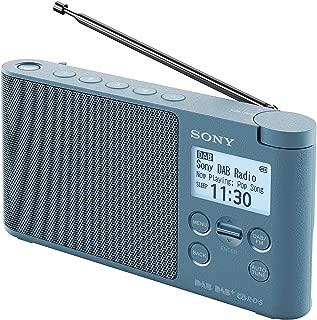 Sony XDR-S41D 便携式 DAB/DAB + 无线收音机和液晶显示屏