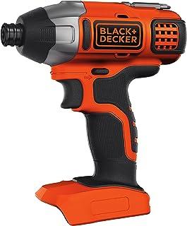 BLACK+DECKER 18 V Cordless Impact Power Drill Driver, Battery Not Included, BDCIM18N-XJ