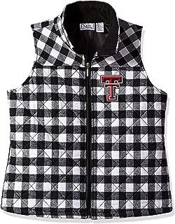 Nitro USA NCAA Womens Buffalo Check Plaid Women's Missy Fit Vest