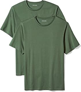 Amazon Essentials Men's 2-Pack Loose-Fit Short-Sleeve Crewneck T-Shirts