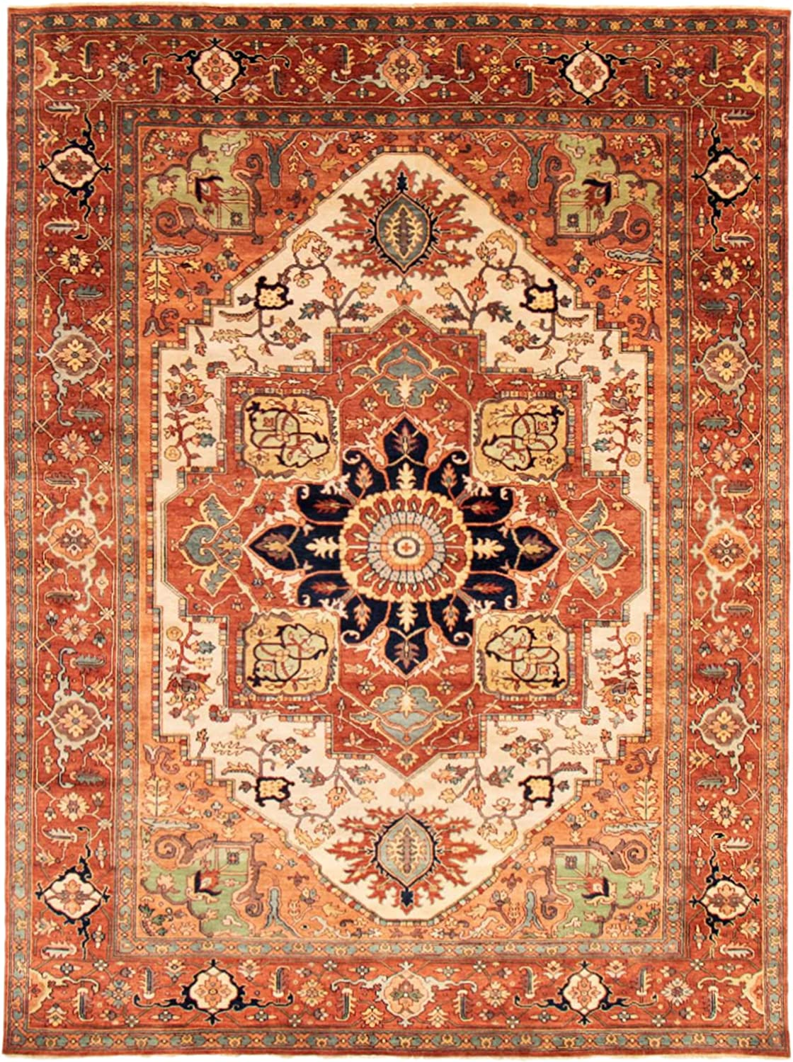 eCarpet Gallery Large Area Rug Max 60% Free shipping OFF Bedroom Room Hand-K for Living