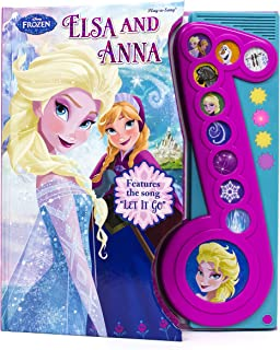 Disney Frozen - Elsa and Anna Sound Song Book with Let It Go - Play-a-Song - PI Kids