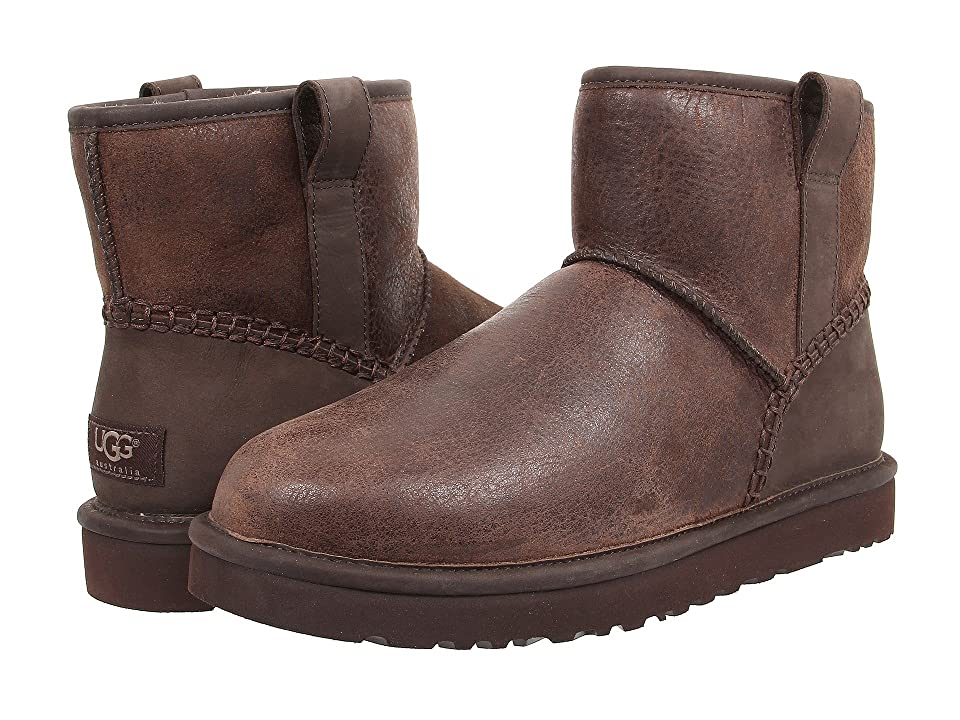UGG Classic Mini Stitch (Stout Leather) Men