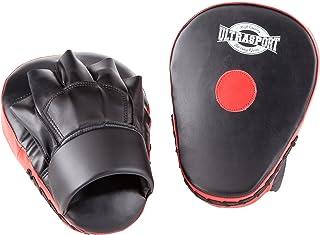 【Amazon限定ブランド】ウルトラスポーツ パンチングミット ボクシング ミット 左右1セット (レッドポイント付き)