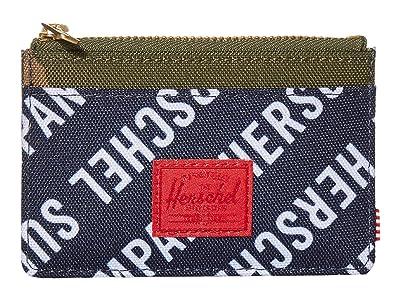 Herschel Supply Co. Oscar RFID (Roll Call Peacoat/Woodland Camo) Wallet Handbags