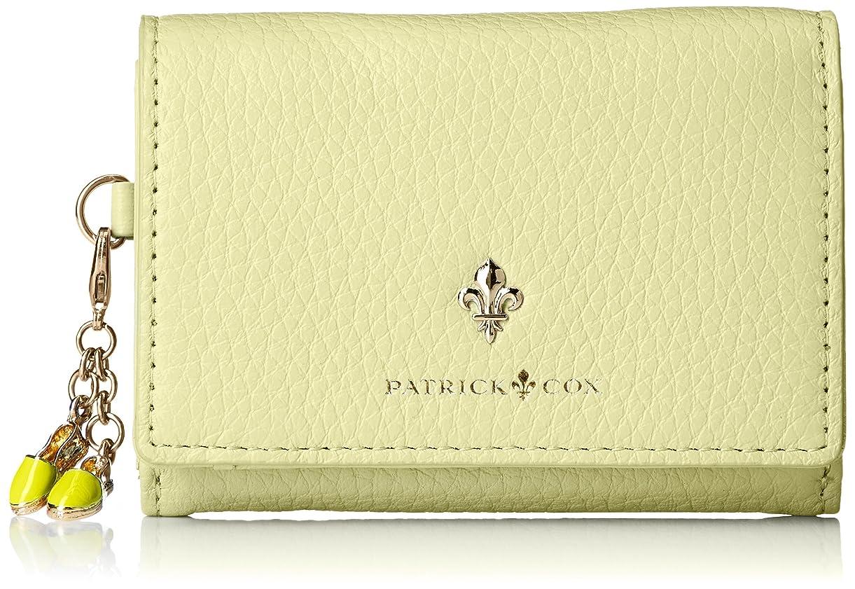 故障ヒップ予約[パトリックコックス] 折財布 《クールパステル》 クールパステル 薄型 サンダル飾りチャーム付