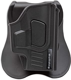 Bulldog Cases Rapid Release Polymer Holsters with Paddle- Fits Sig Sauer P365