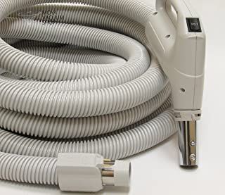 Dust Care Central Vacuum Cleaner 35 Feet Direct Connect Electric Hose