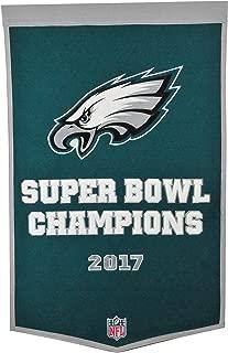 Winning Streak NFL Philadelphia Eagles Super Bowl 52 Dynasty Banner