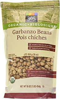 365 Everyday Value Organic Dried Garbanzo Beans, 16 oz